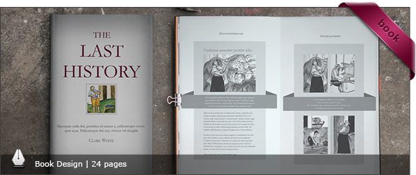 InDesign Book Template: Aldora