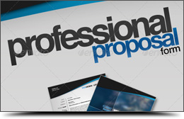 Professional Proposal Pack + Business Cards!!