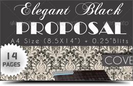 Elegant Black Proposal