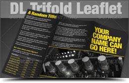 Trifold Leaflet - InDesign