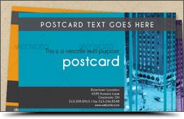 Multi-Purpose Postcard