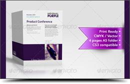 Minimal A5 Multi Usage Brochure