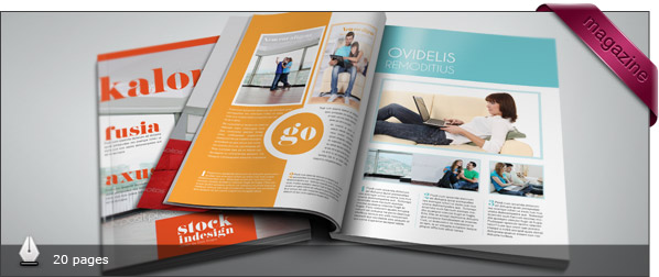 Utopic Indesign Pro Magazine Template Kalonice