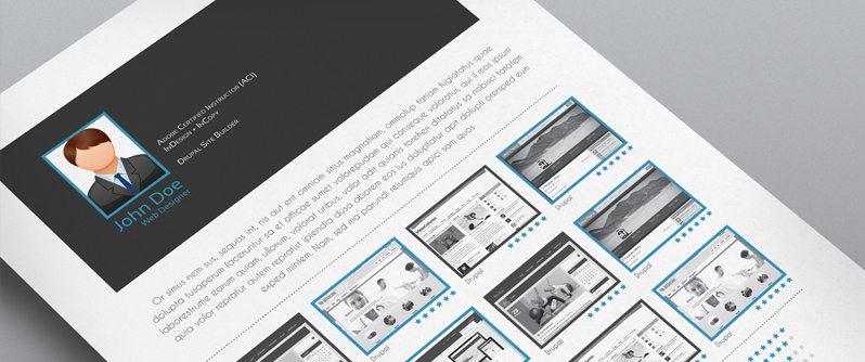 stockindesign 5 cv  resume indesign templates