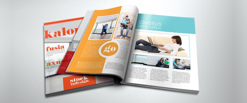 InDesign PRO Magazine Template: Kalonice