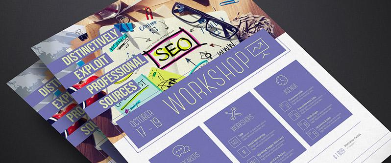 Workshop Flyer Template Images Template Design Free Download