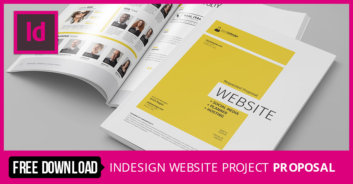 Stockindesign website project proposal for Stockindesign