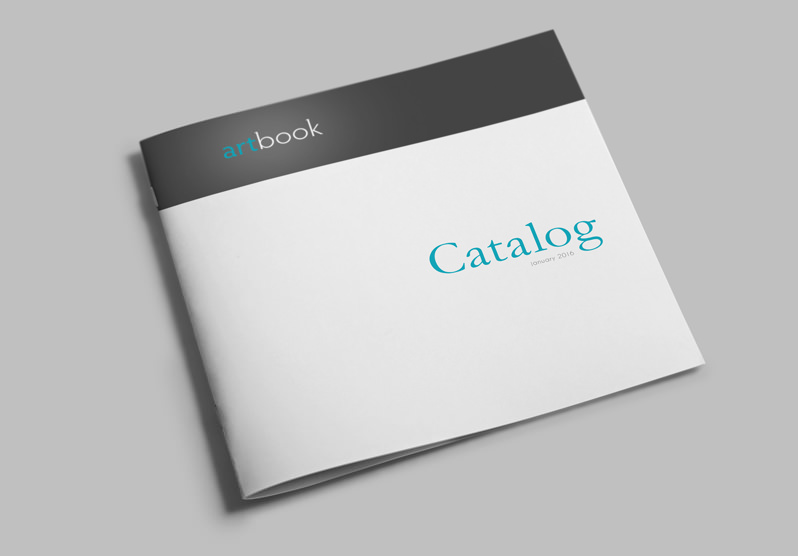 Catalog template artbook stockindesign for Sample product catalogue template