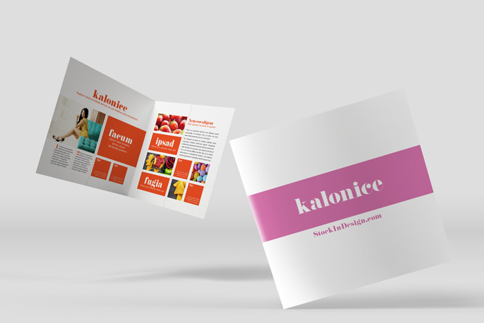 InDesign Magazine Template: Kalonice