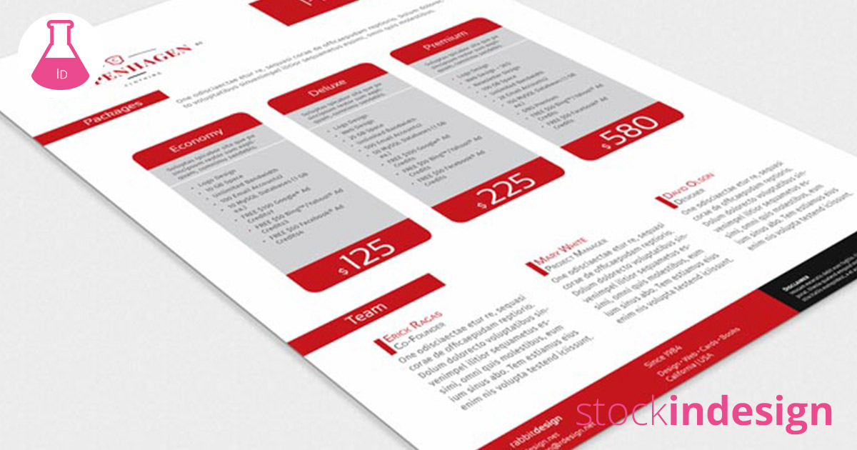 InDesign Proposal Template | StockInDesign