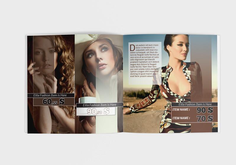InDesign Catalog Template: Fashion