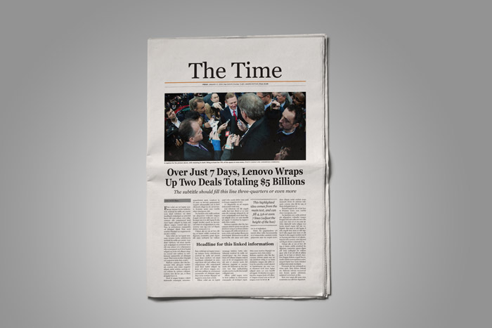 Old Style Newspaper Template  Stockindesign