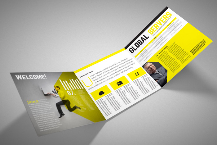 Square Trifold Brochure | StockInDesign