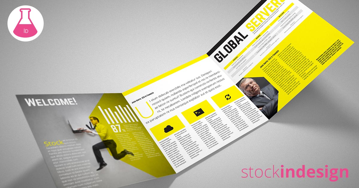 Square trifold brochure stockindesign for Stockindesign