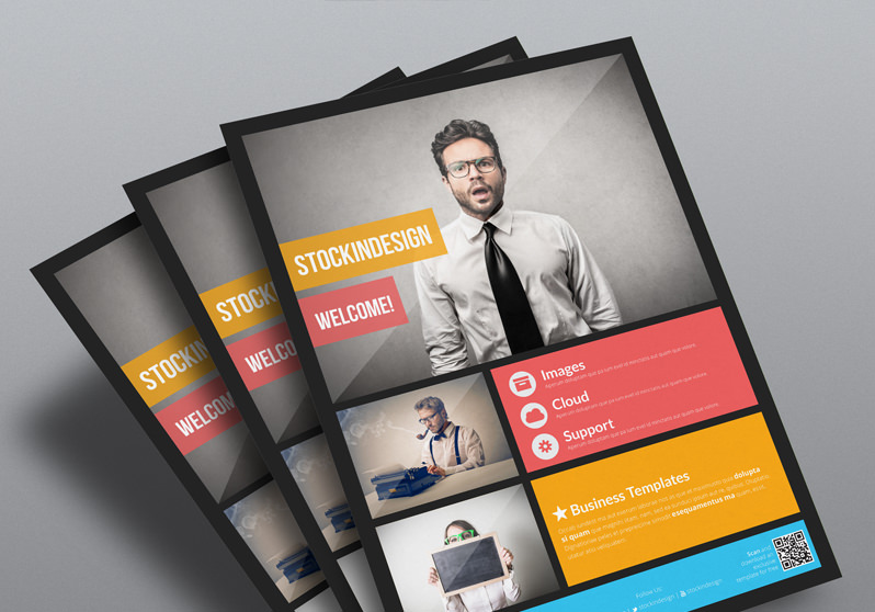 Flyermania create unlimited flyers for free in adobe for Indesign brochure templates free