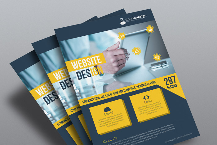 InDesign Corporate Flyer Template