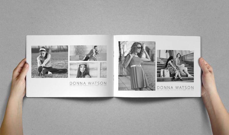 Minimal Photo Catalog Template | StockInDesign