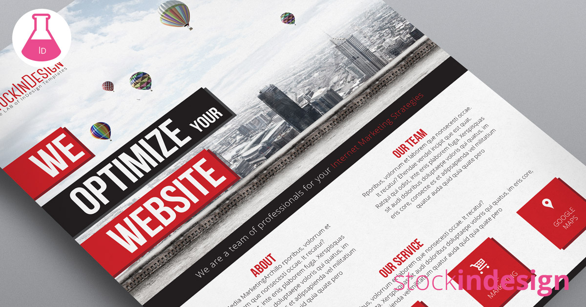 Multipurpose corporate flyer stockindesign for Stock indesign