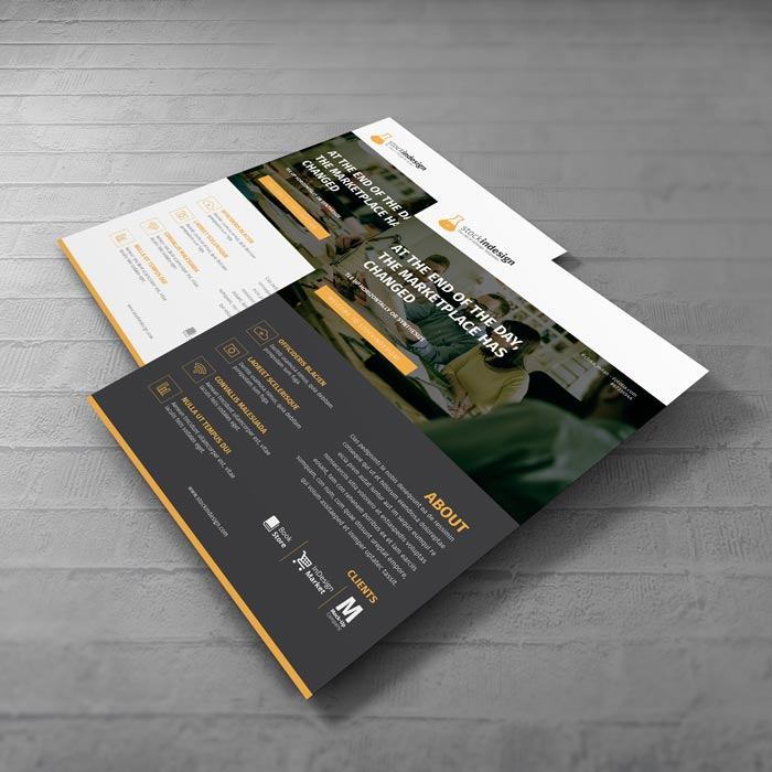 Corporate Flyer: Web Style
