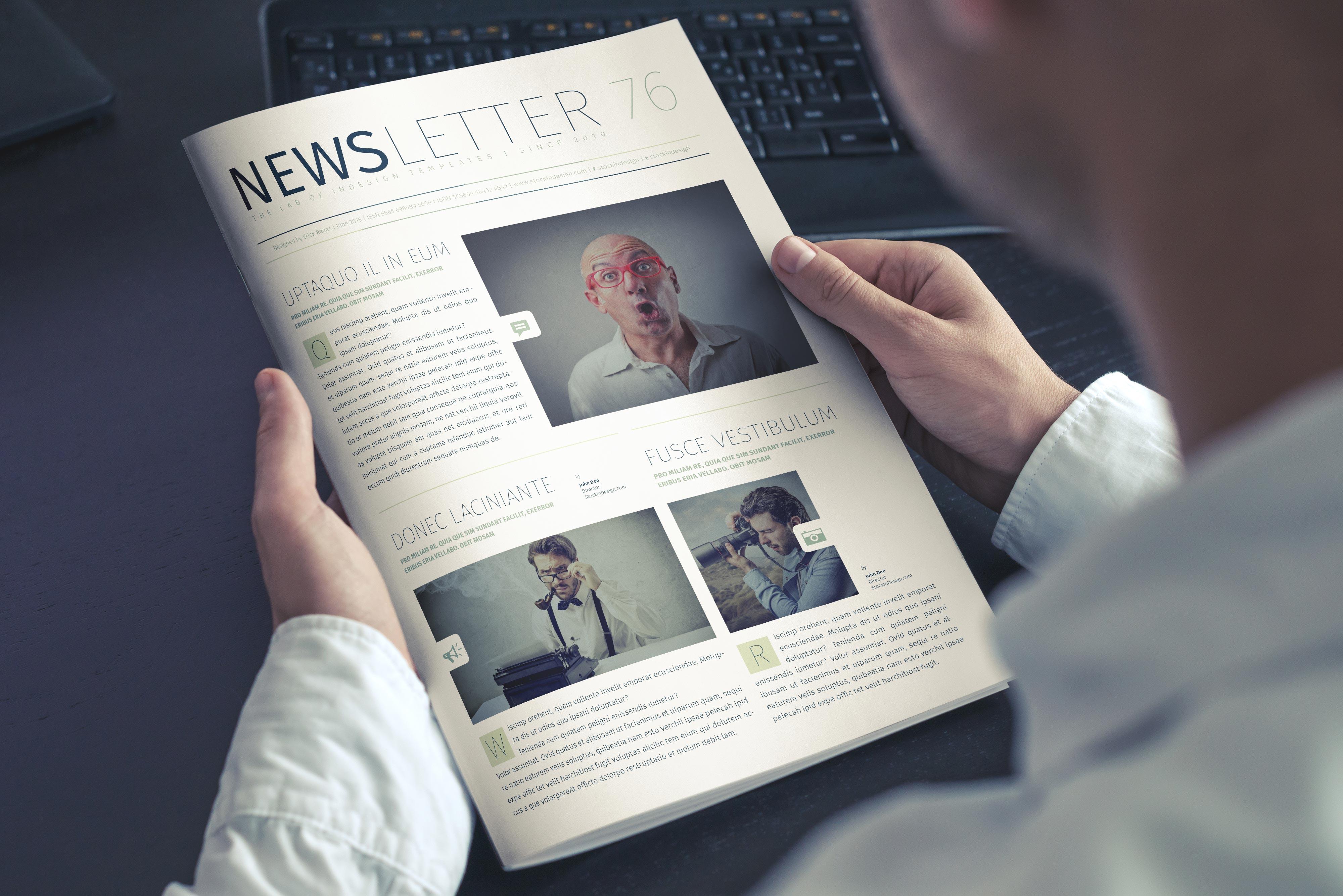 Modern Business Newsletter
