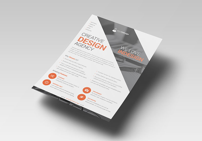 Corporate Agency Flyer