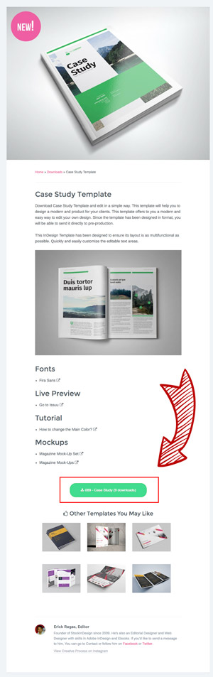 How to Open the InDesign Templates? | StockInDesign