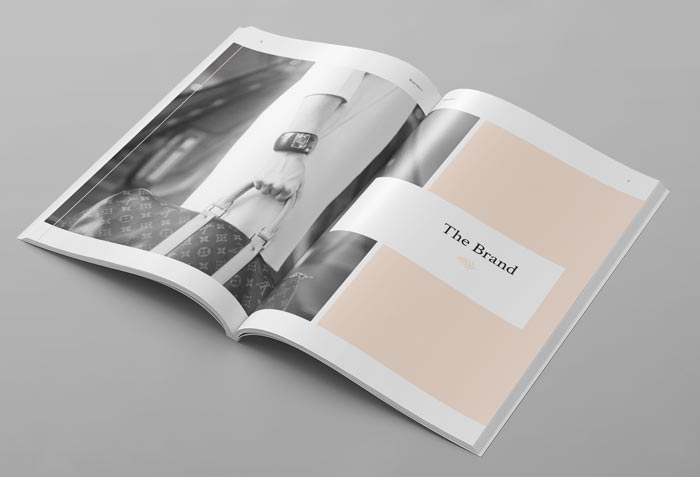 Brand Manual Template | FREE InDesign Templates