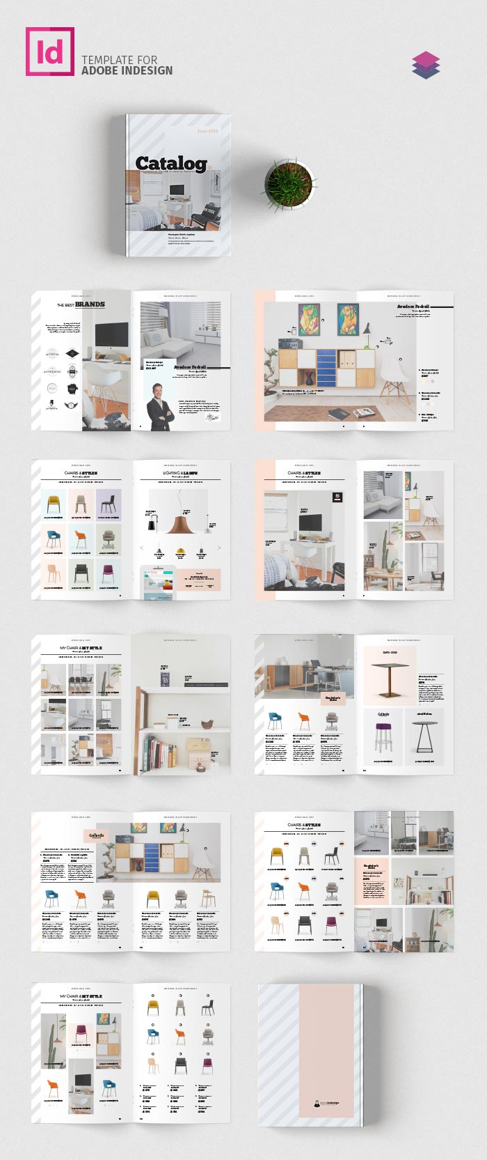 Product Catalog Template | Adobe InDesign Templates