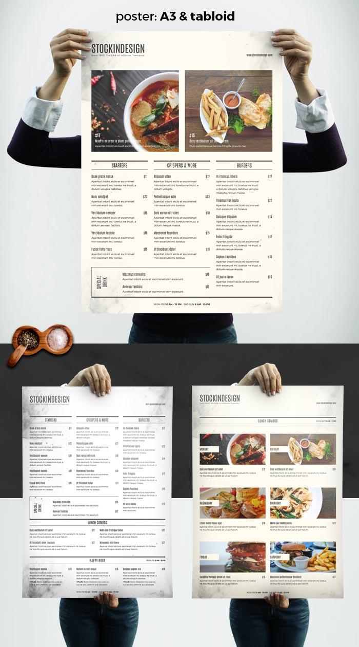 menu template indesign - 28 images - 1000 images about menu ...