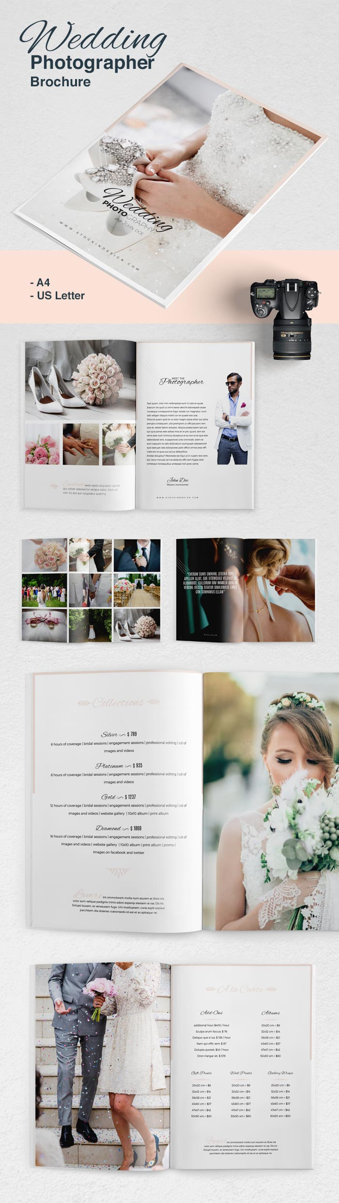 Wedding Photographer Templates
