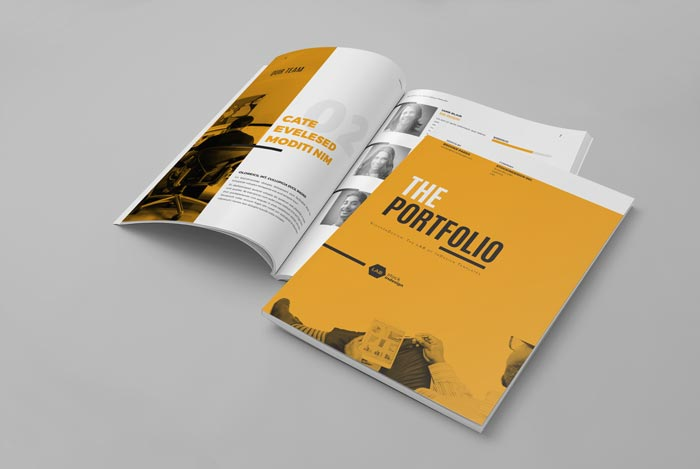 my portfolio template for graphic designer adobe indesign templates