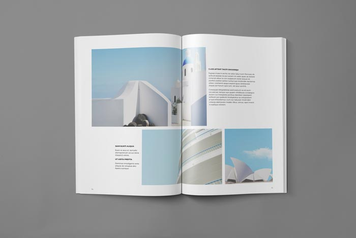 Portfolio Booklet Template  Booklet Template