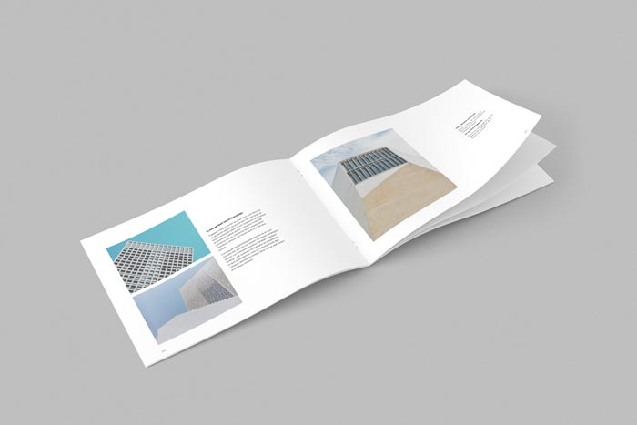 Portfolio Booklet Landscape  Adobe Indesign Templates