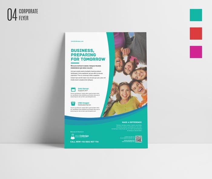 FREE InDesign Bundle: 10 Corporate Flyer Templates