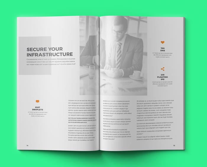 Creative Corporate Brochure Grey
