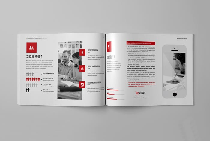 Business Plan Indesign Template Gallery Business Cards Ideas