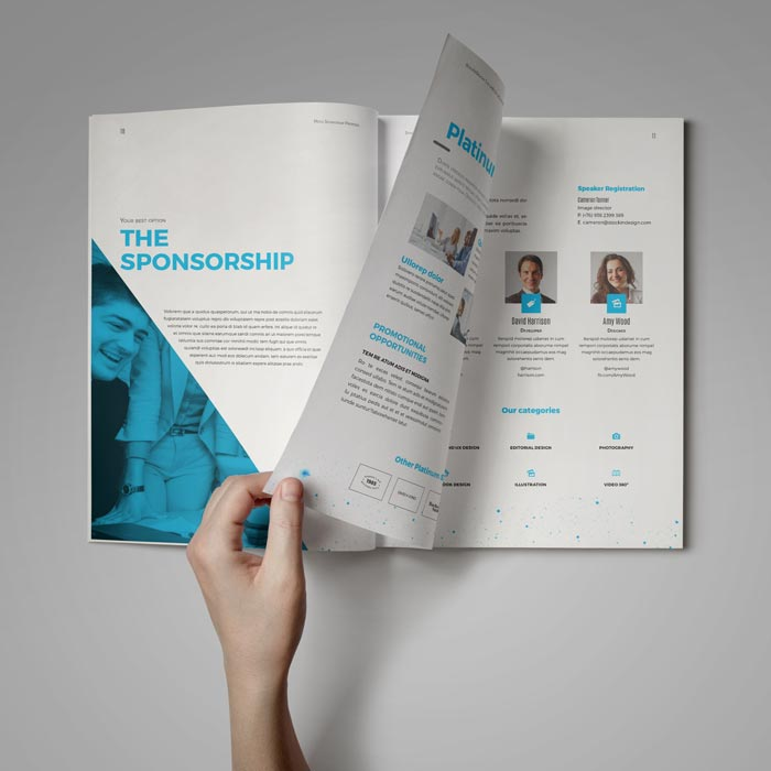 Sponsorship Proposal | Adobe InDesign Template for Designers