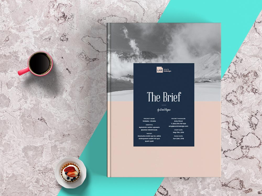 Web Design Brief Template Indesign Templates For Designers