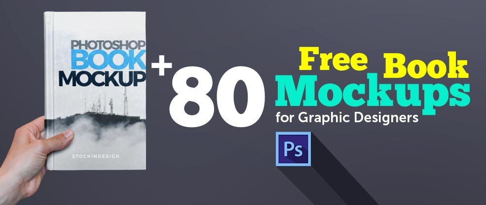 80+ Best Free Book Mockups for Graphic Designers - StockInDesign