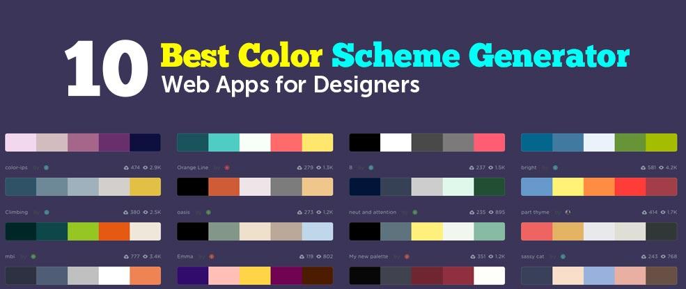 10 Best Color Scheme Generator