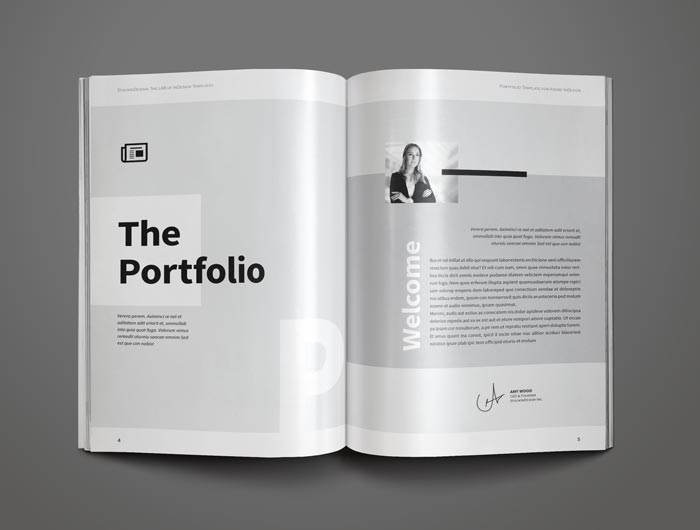 portfolio template stockindesign