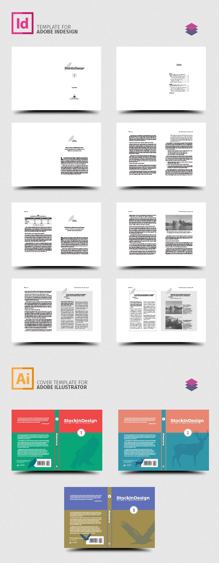 InDesign Book Template