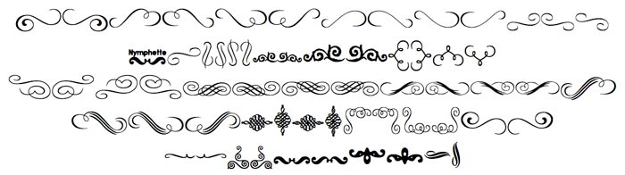 Fonts with Type Ornaments to Use in Your Book design
