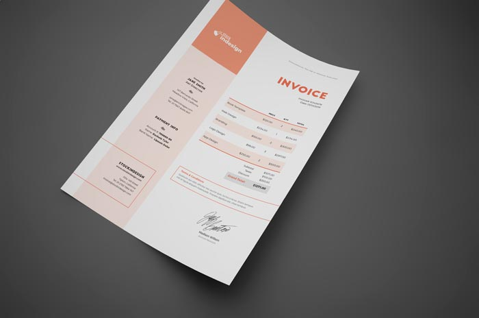 Invoice Templates for InDesign