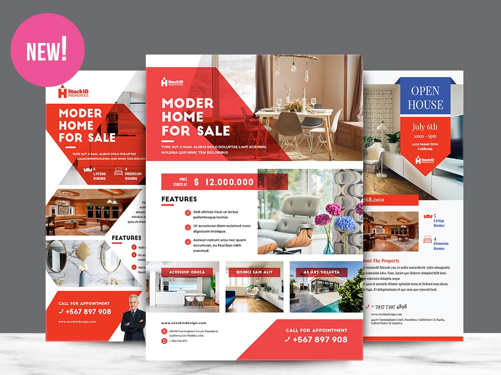 Real Estate Flyer Template
