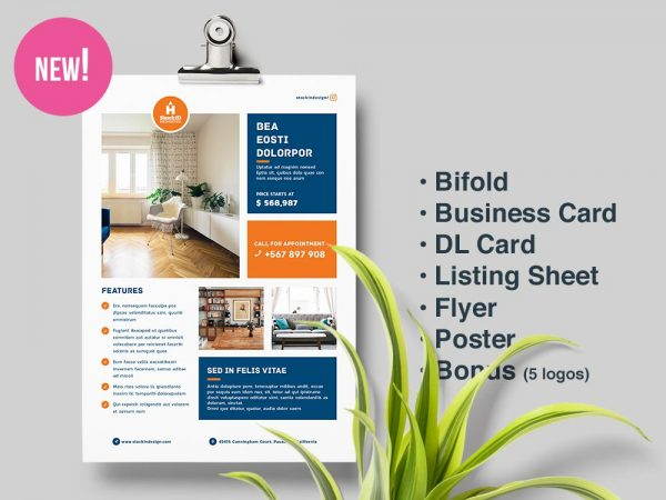 Real Estate Templates Pack 1 for InDesign