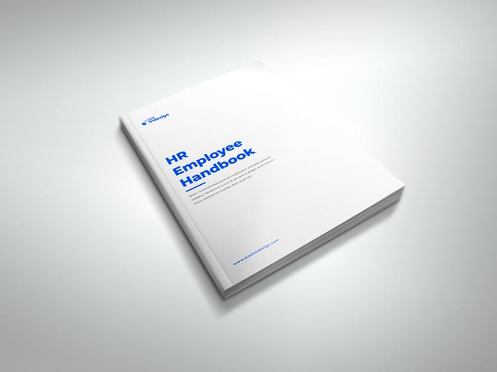 HR / Employee Handbook Template for InDesign