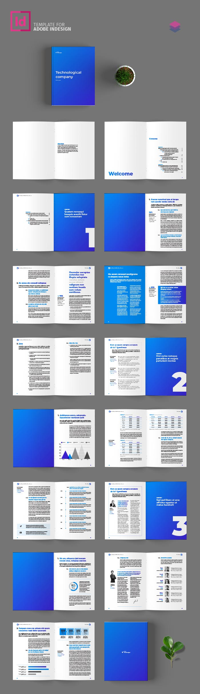 White Paper Template for InDesign