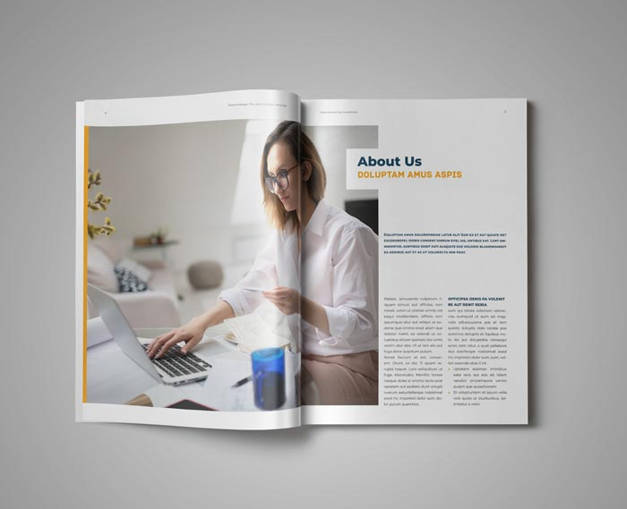 Telecommuting Guidelines Template for Adobe InDesign