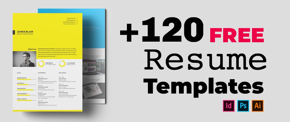 120+ Free Resume Templates